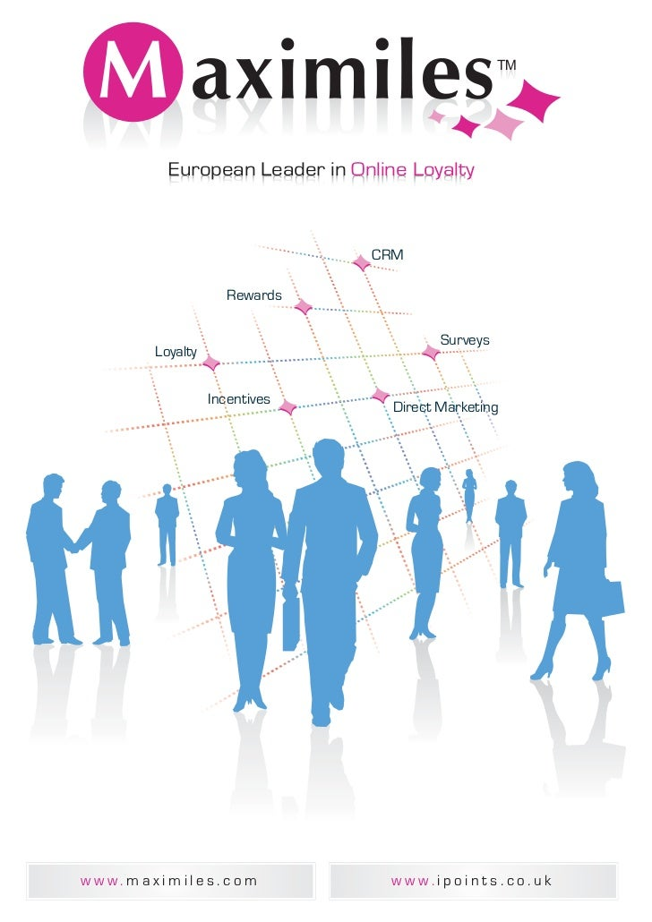 European Leader in Online Loyalty                              CRM                    Rewards                             ...