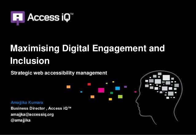 Maximising digital engagement and inclusion 2.0