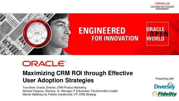 Maximizing CRM ROI through Effective                                                                                      ...