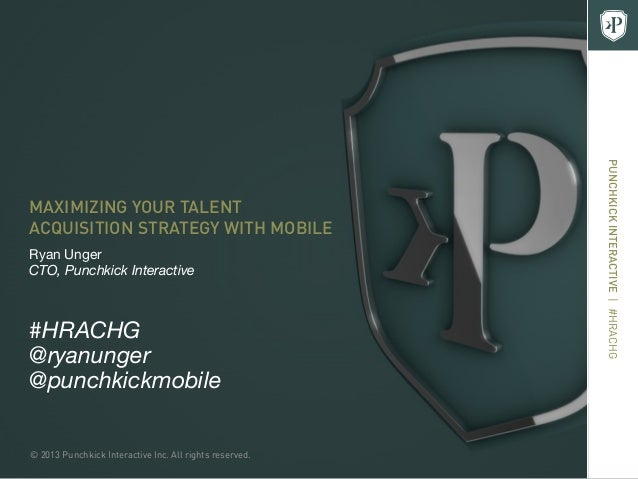 Maximizing Your Talent Acquisition Strategy with Mobile