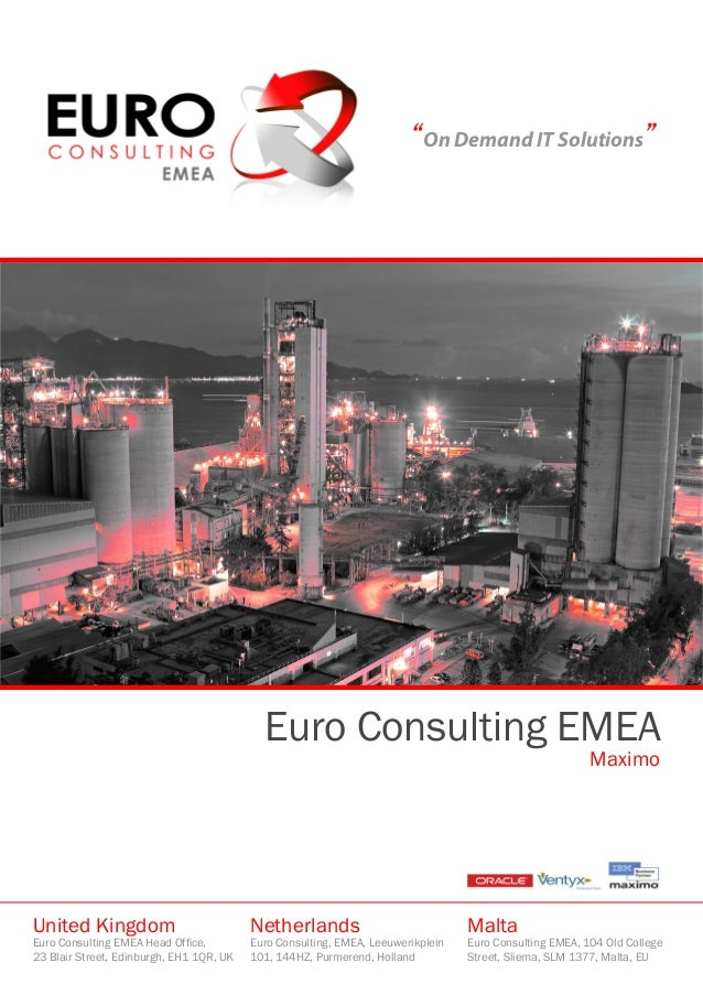 """""""On Demand IT Solutions""""                                            Euro Consulting EMEA                                  ..."""