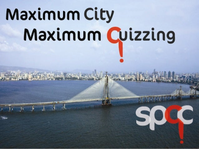 Babbar says!  The Mumbai Quiz  He can win this quiz in 12 seconds. Can you?