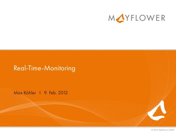 Max Köhler - Real-Time-Monitoring