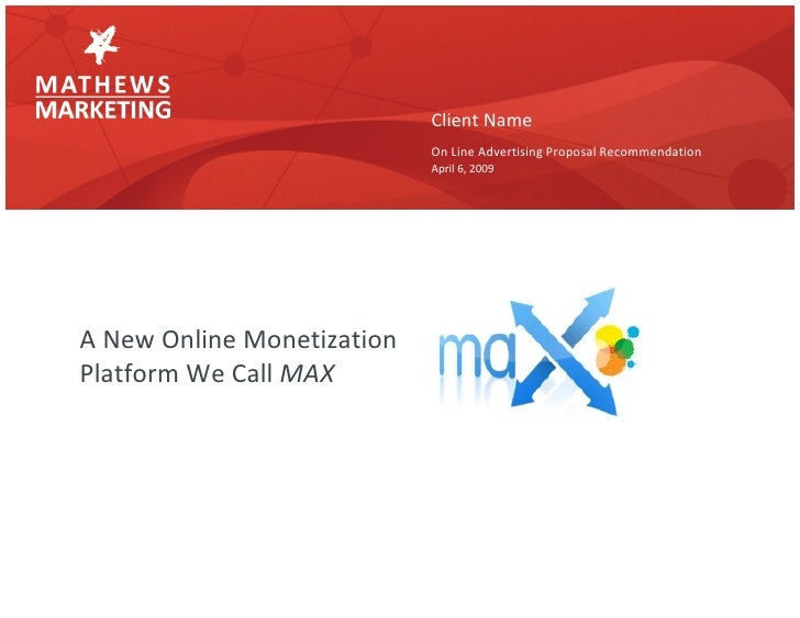 Max Marketplace Introduction
