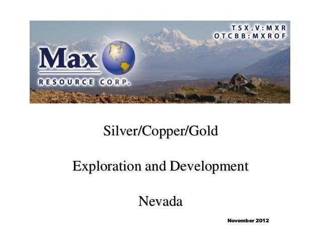 Max resource presentationnov12