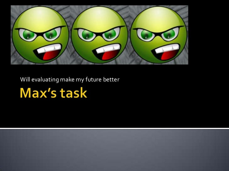 Max's Term 4 task