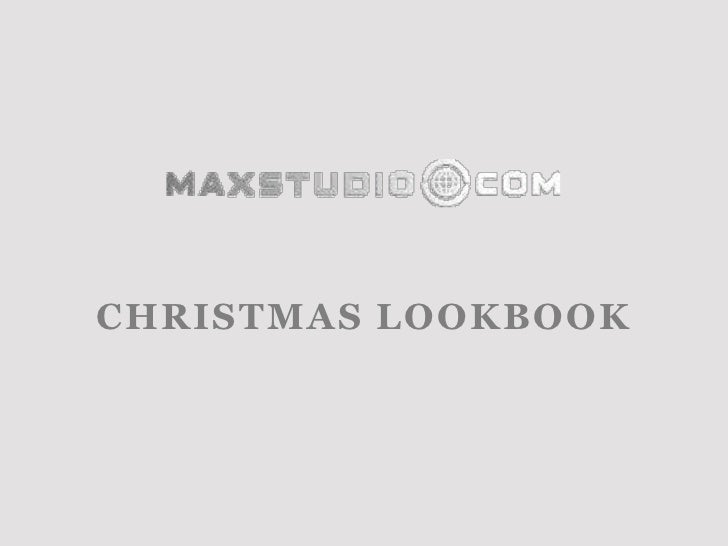 Max studio US - Christmas Lookbook