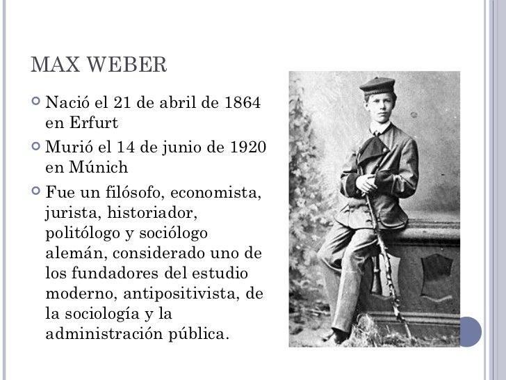 bibliografia de max weber.doc