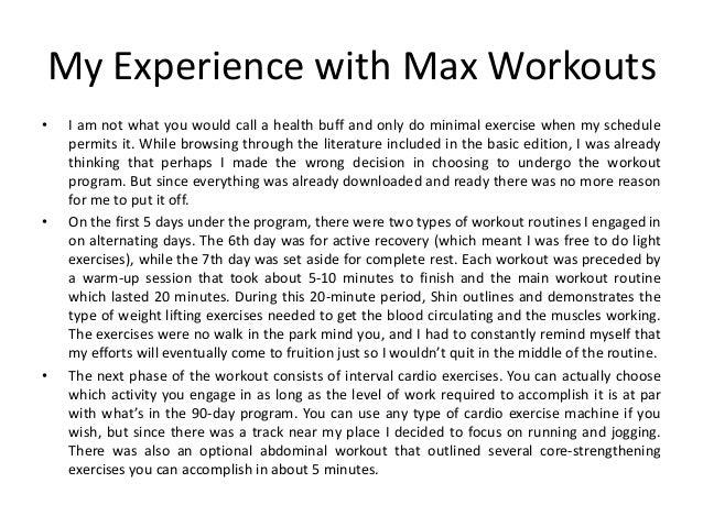 shin ohtake max workouts pdf free download