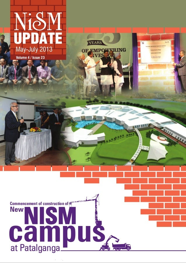 Volume 4 / Issue 23 May-July 2013 at Patalganga Commencement of construction of New