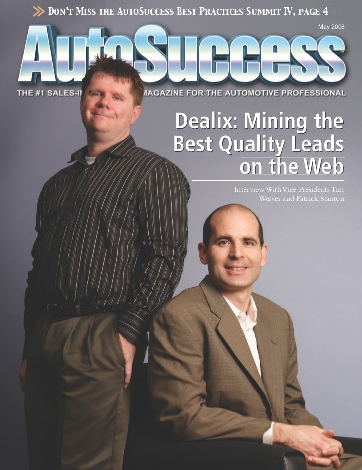 Don't Miss the AutoSuccess Best Practices Summit IV, page 4                                                               ...