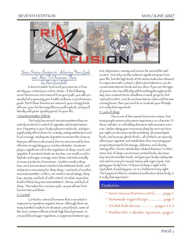 TriFusion Newsletter - May.'07