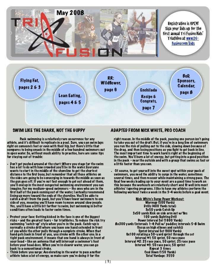 TriFusion Newsletter - May.'08