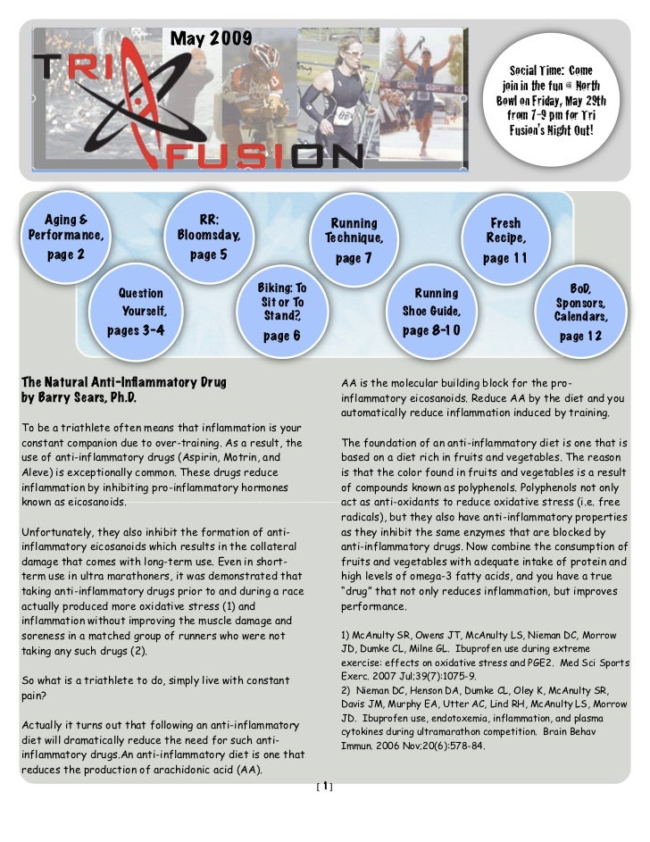 TriFusion Newsletter - May '09
