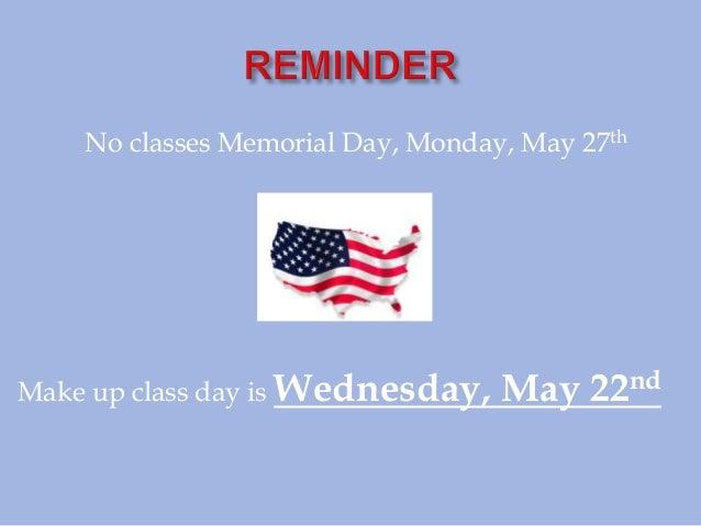 May 13 campus notes 05132013