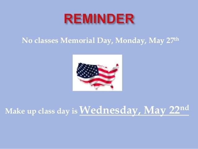 May 14 campus notes 05142013