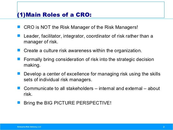 the role of chief information officers in corporations Strengthening the role of the chief risk  are appointing chief risk officers to help  the-role-of-the-chief-risk-officer-in-an-organization.