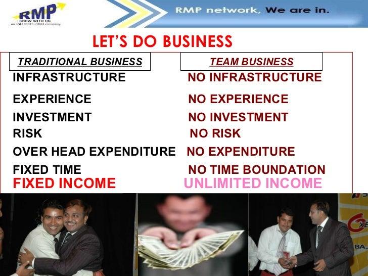 Infrastructure business plan