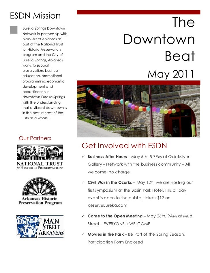 ESDN May Downtown Beat
