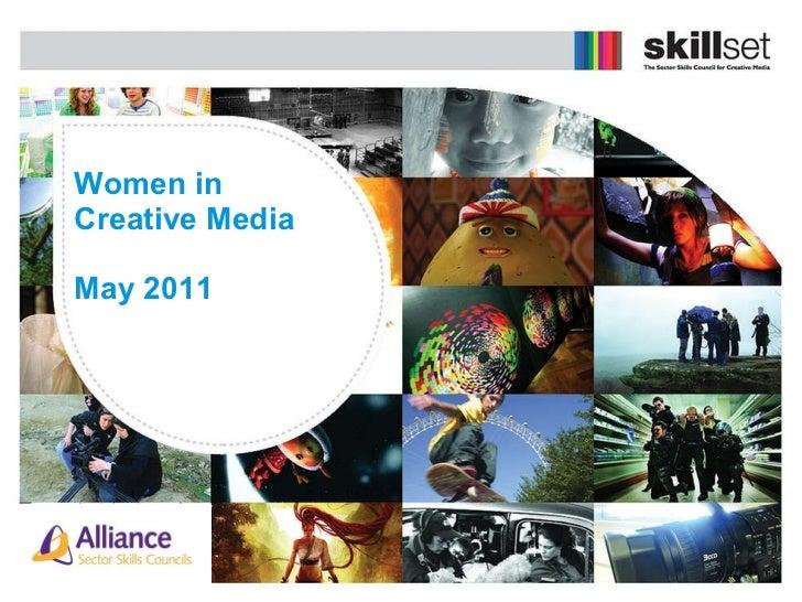 Women in  Creative Media May 2011