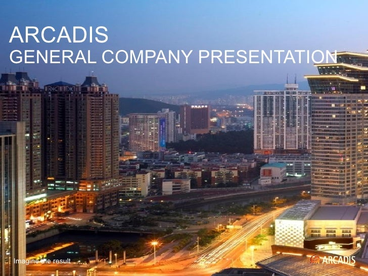 Arcadis General Company Presentation (Nx Power Lite)
