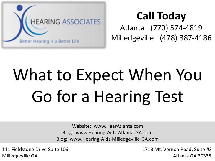 What to Expect When You Go for a Hearing Test