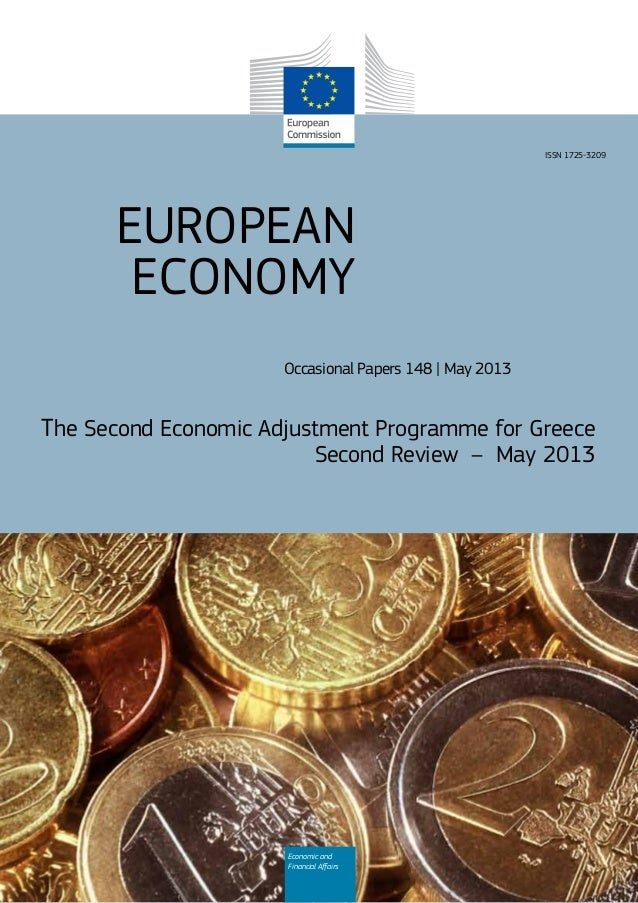 EUROPEANECONOMYOccasional Papers 148 | May 2013The Second Economic Adjustment Programme for GreeceSecond Review – May 2013...