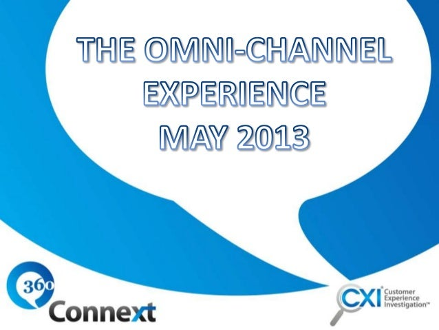 Omnichannel and Multi Channel Customer Experience