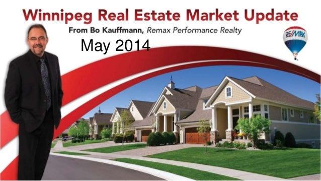 May 2014 Winnipeg real estate market update