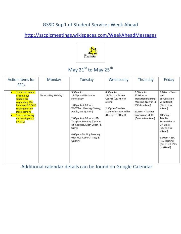 May 21 to may 25