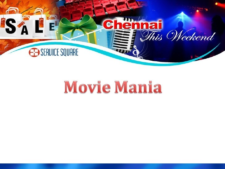 New Movies For The Week In Chennai