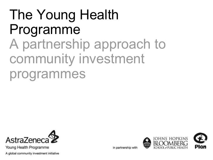 The Young Health Programme A partnership approach to community investment programmes