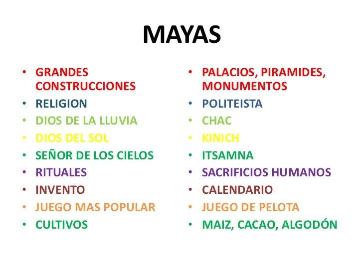 Mayas astecas e incas