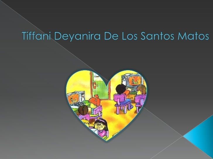 Tiffani Deyanira De Los Santos Matos<br />