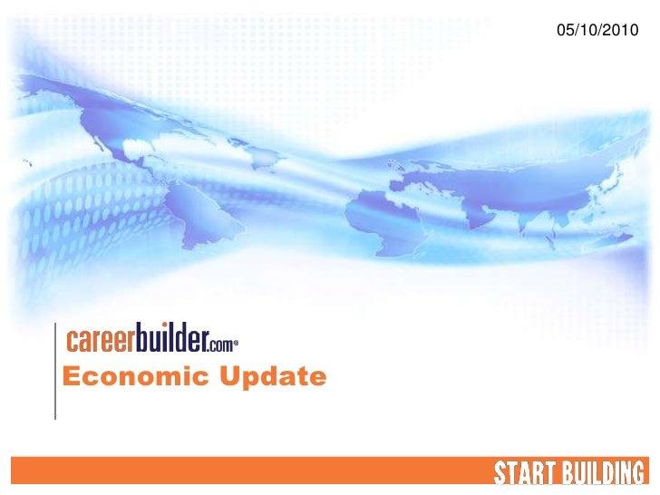 05/10/2010     Economic Update