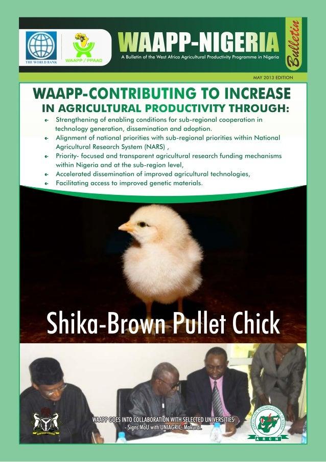 WAAPP Nigeria Bulletin May 2013 Edition