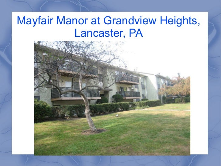 Mayfair Manor at Grandview Heights, Lancaster, PA