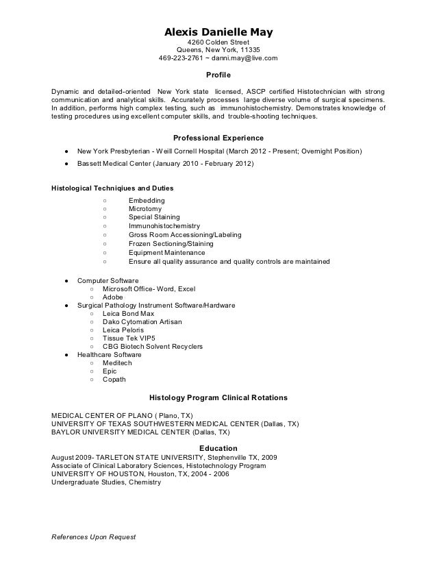 sle science resume resume sle student