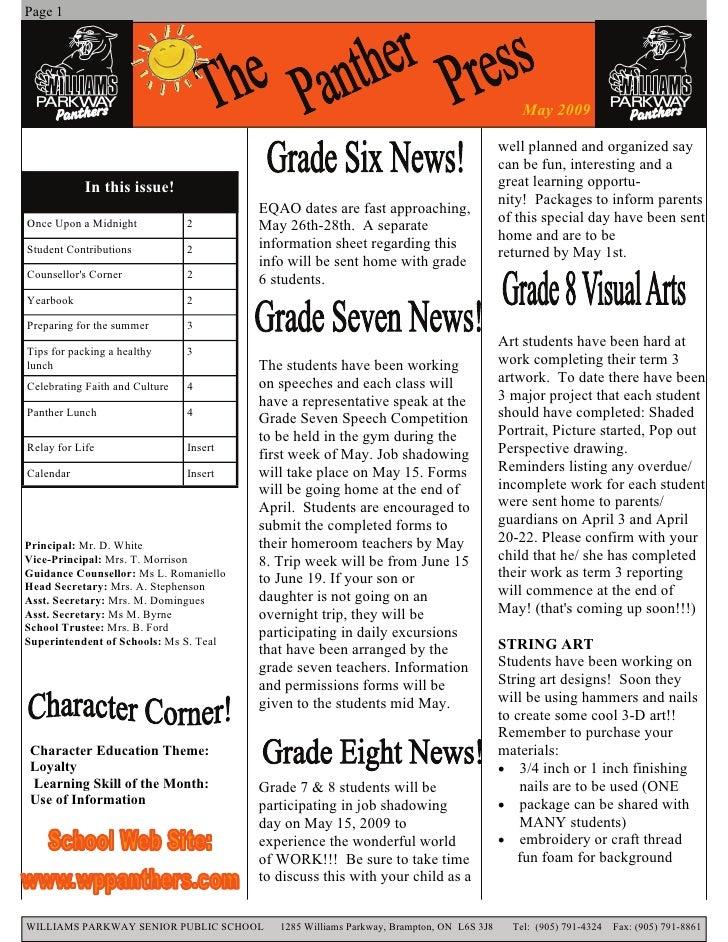 Page 1                                                                                                   May 2009         ...