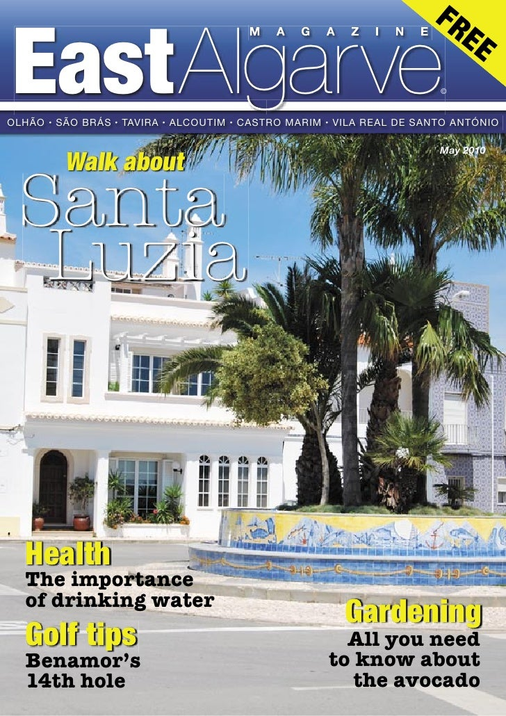 East Algarve Magazine - MAY 2010