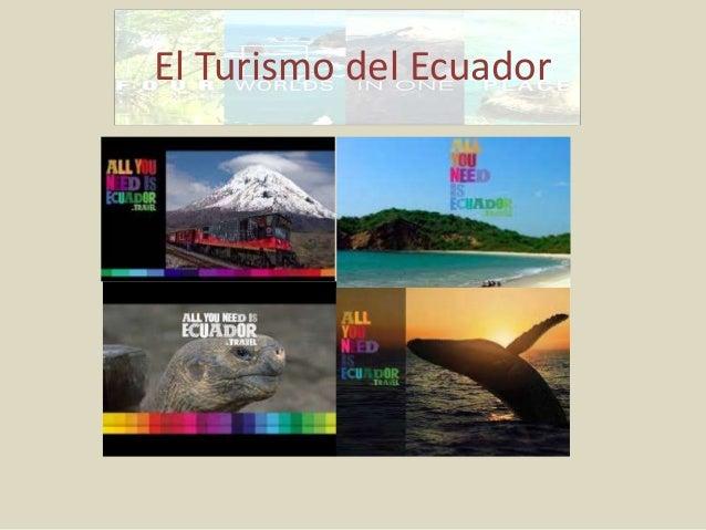 El Turismo del Ecuador