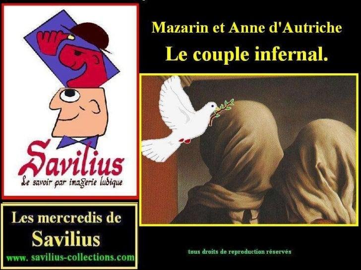 Mazarin et Anne d'Autriche le couple infernal