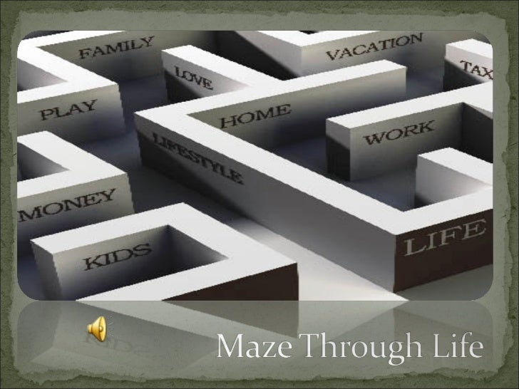 Maze through life