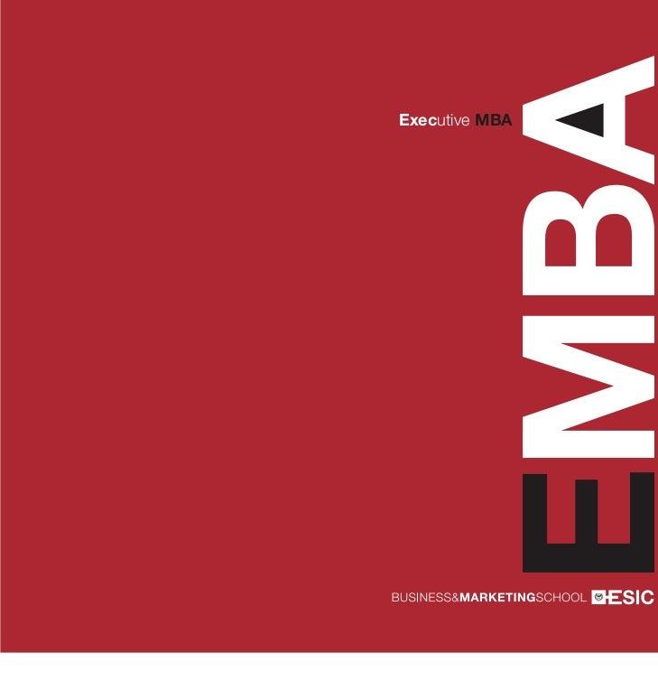 EMBAExecutive MBA