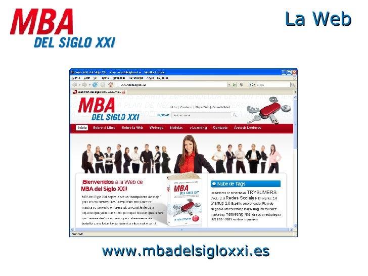 La Web www.mbadelsigloxxi.es
