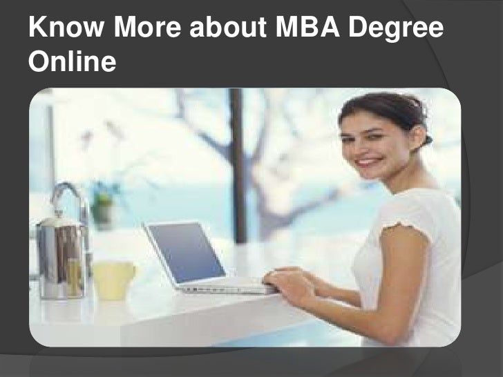 Know More about MBA DegreeOnline