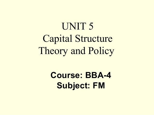 capital structure and dividend policy analysis Form of capital: capital structure  proposes of pecking order theory dividend policy is stickily there is preference for  capital structure analysis.
