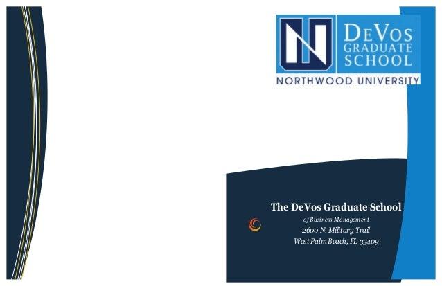 DeVos Graduate School Brochure