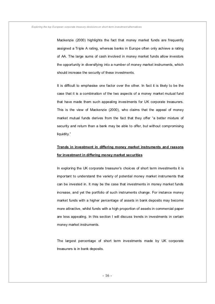 Dissertation On Banked Blood