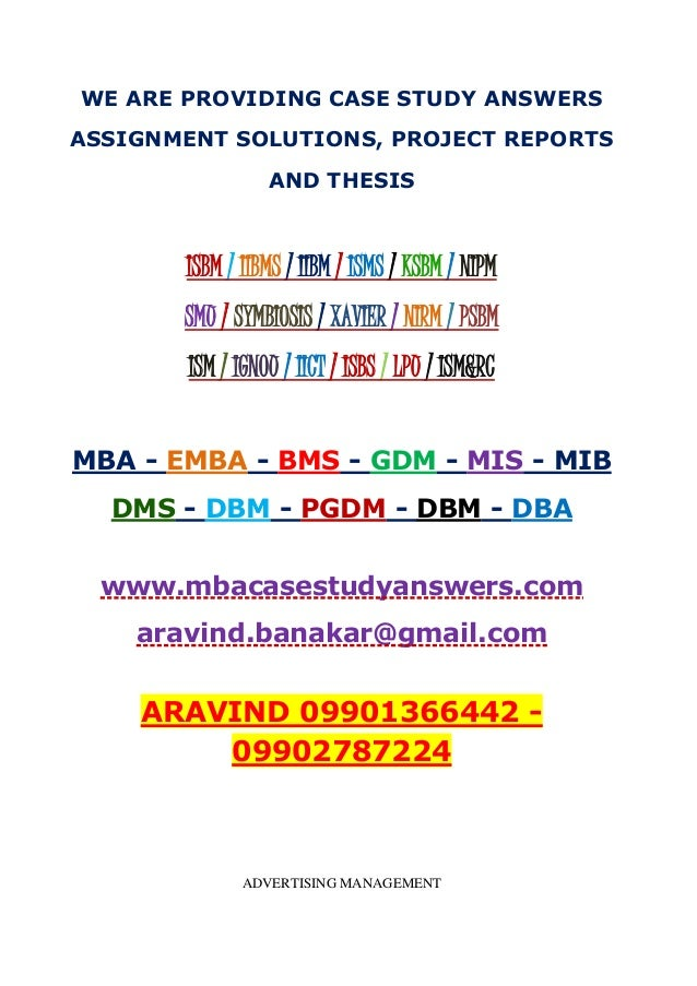 case study questions and answers mba